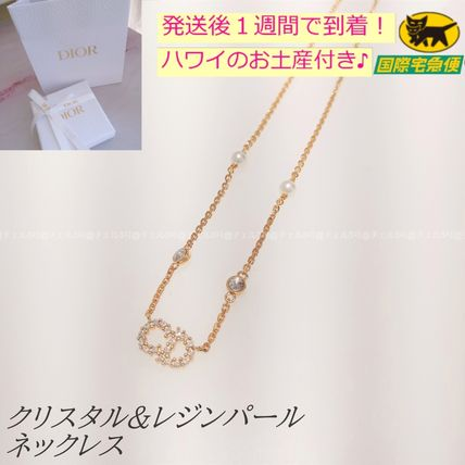 Christian Dior Costume Jewelry Casual Style Party Style Brass Office Style