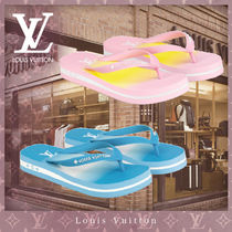 Louis Vuitton Flower Patterns Monogram Casual Style Blended Fabrics