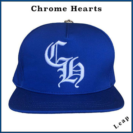 CHROME HEARTS Collaboration Street Style Caps