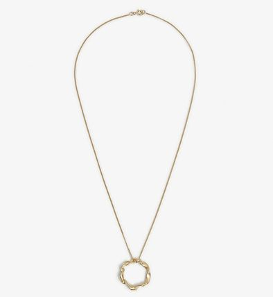 Casual Style Unisex Chain Handmade Silver 14K Gold