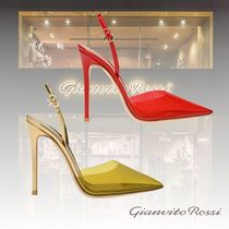 Gianvito Rossi Casual Style Elegant Style High Heel Pumps & Mules