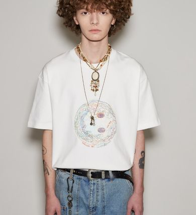 ANDERSSON BELL More T-Shirts Unisex Street Style Cotton Short Sleeves Oversized Logo