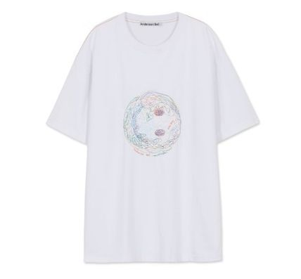 ANDERSSON BELL More T-Shirts Unisex Street Style Cotton Short Sleeves Oversized Logo 3