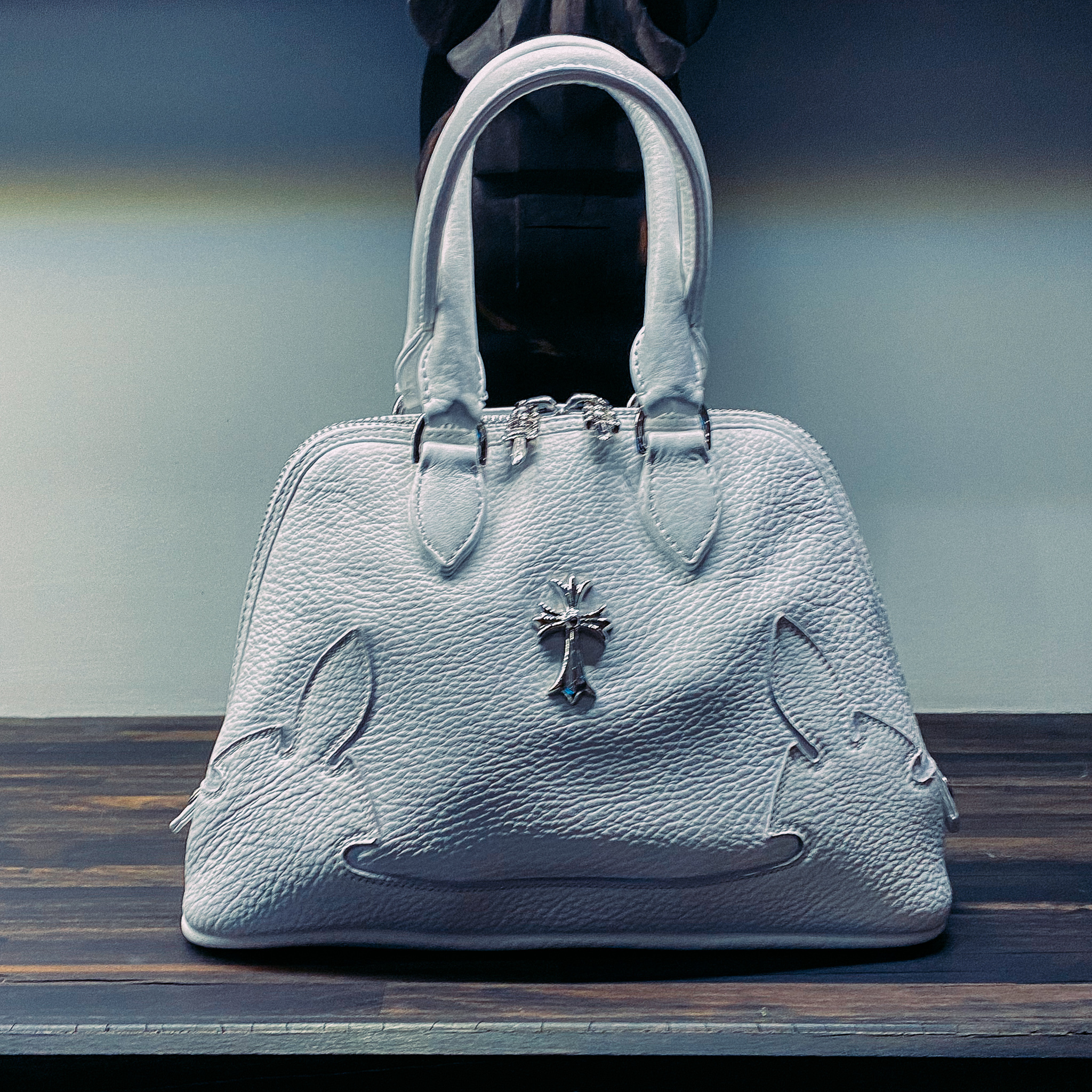 shop chrome hearts bags