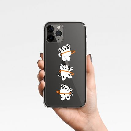 Unisex Street Style Other Animal Patterns iPhone 8
