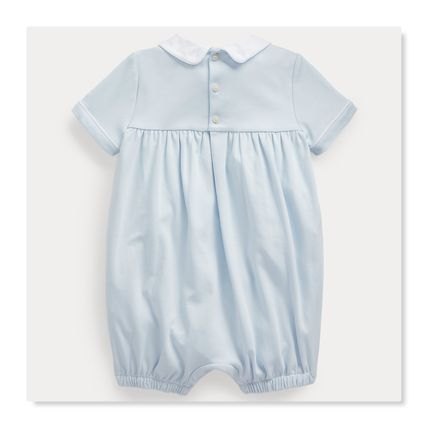 Ralph Lauren Co-ord Bridal Icy Color Baby Boy Bodysuits & Rompers