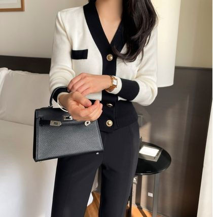 Short Casual Style Long Sleeves Plain Medium Party Style