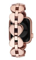 kate spade new york Stainless Apple Watch Belt Watches