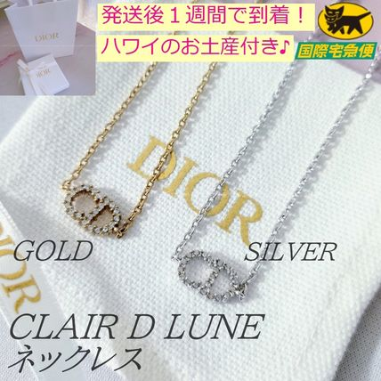 Christian Dior Star Casual Style Party Style Brass Office Style