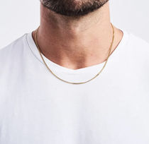 CRAFTD London Unisex Street Style Chain 18K Gold Chain Necklaces