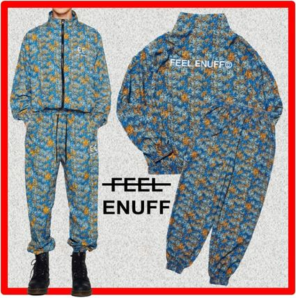 FEEL ENUFF Two-Piece Sets Unisex Street Style Two-Piece Sets