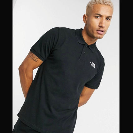 THE NORTH FACE Polos Street Style Cotton Short Sleeves Logo Outdoor Polos 2