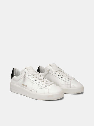 Star Leather Logo Sneakers