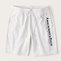 Abercrombie & Fitch Logo Printed Pants Joggers Shorts