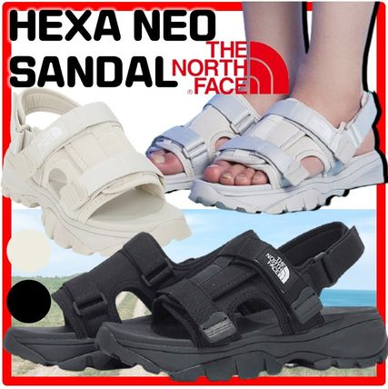 THE NORTH FACE More Sandals Unisex Street Style Logo Sandals