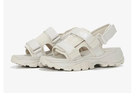 THE NORTH FACE More Sandals Unisex Street Style Logo Sandals 3