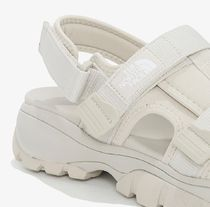 THE NORTH FACE More Sandals Unisex Street Style Logo Sandals 8