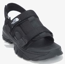 THE NORTH FACE More Sandals Unisex Street Style Logo Sandals 12