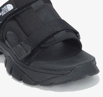 THE NORTH FACE More Sandals Unisex Street Style Logo Sandals 15