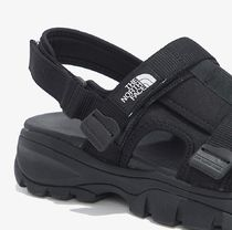THE NORTH FACE More Sandals Unisex Street Style Logo Sandals 16