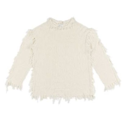 Cable Knit Casual Style Plain Long Street Style Fringes