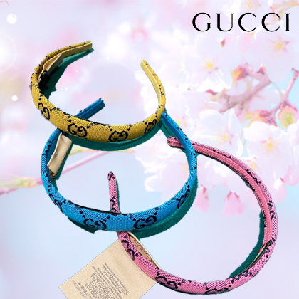 GUCCI Casual Style Elegant Style Hair Accessories