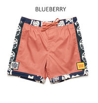 TCSS More Shorts Printed Pants Flower Patterns Street Style Cotton Shorts 12