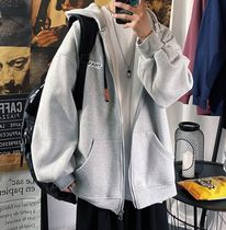 Hoodies Pullovers Sweat Street Style Long Sleeves Cotton Oversized 5