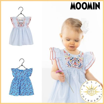 Organic Cotton Street Style Baby Girl Dresses & Rompers