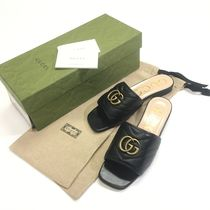 GUCCI GG Marmont Women's Slide With DoubleG