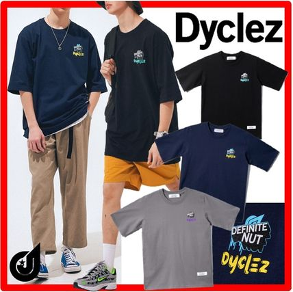 dyclez More T-Shirts Street Style Cotton T-Shirts
