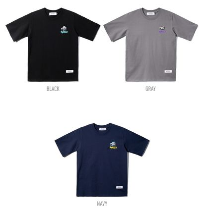 dyclez More T-Shirts Street Style Cotton T-Shirts 2