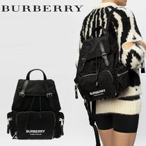 Burberry Casual Style Unisex Nylon Street Style Office Style