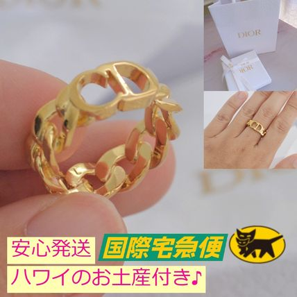 Christian Dior Casual Style Party Style Brass Office Style Elegant Style