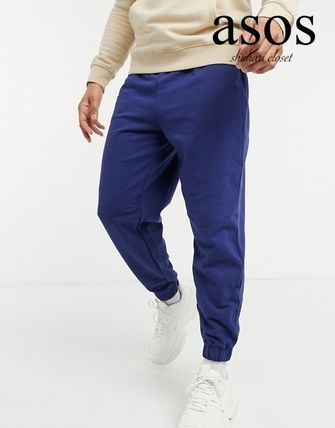 ASOS Tapered Pants Street Style Plain Loungewear Tapered Pants