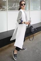 Casual Style Plain Long Party Style Office Style