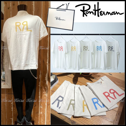 Ron Herman More T-Shirts Unisex Collaboration Cotton Short Sleeves Logo Surf Style