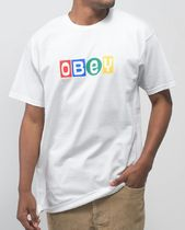 OBEY More T-Shirts Unisex Street Style Short Sleeves Logo Graphic Prints 4