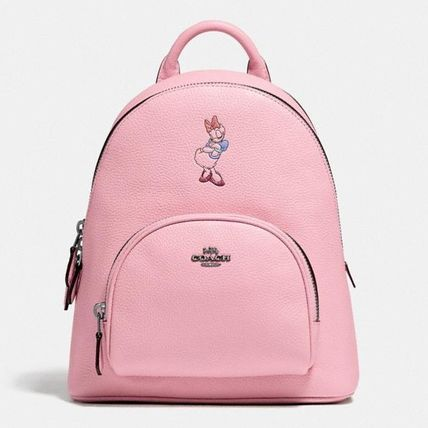 Coach Disney X Coach Carrie Backpack 23 With Daisy Duck Motif