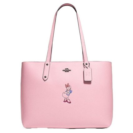 Coach Disney X Coach Central Tote With Zip With Daisy Duck Motif