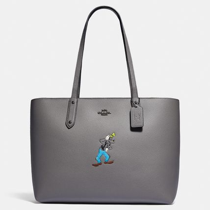 Coach Disney X Coach Central Tote With Zip With Goofy Motif