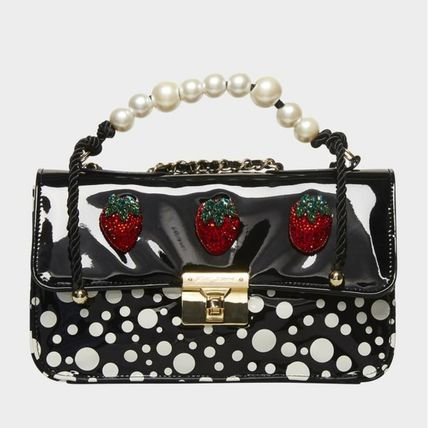 Crossbody Dots Casual Style Office Style Elegant Style