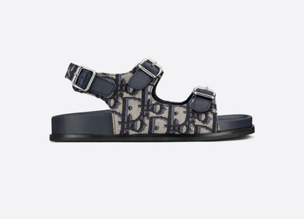 Christian Dior DIOR OBLIQUE Street Style Kids Girl Sandals
