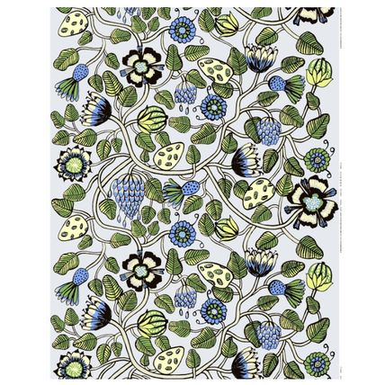 marimekko Scandinavian Style Flower Patterns Handcraft Fabric