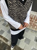 HOLY IN CODE Unisex Street Style Vests & Gillets
