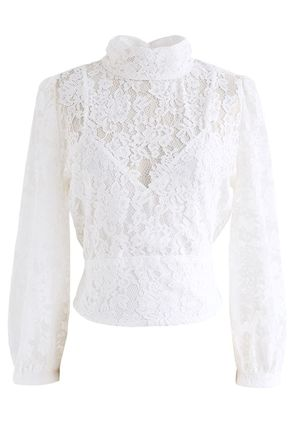 Chicwish Casual Style Party Style Elegant Style Formal Style  Tops