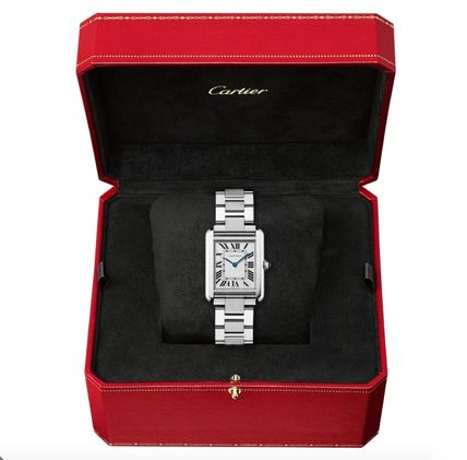 Casual Style Square Party Style Quartz Watches Stainless