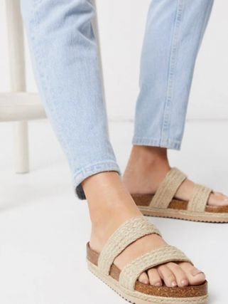 Casual Style Plain Street Style Sandals