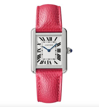 Casual Style Leather Square Party Style Quartz Watches