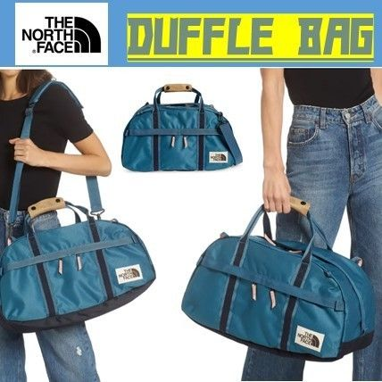 THE NORTH FACE Unisex Street Style Khaki Military Activewear Bags